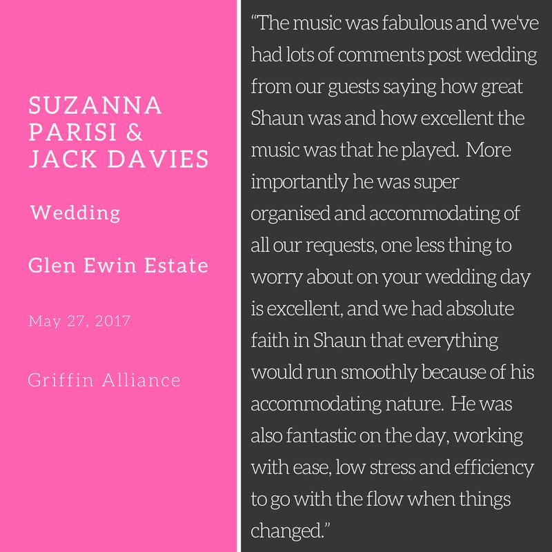 Suzanna Parisi and Jack Davies