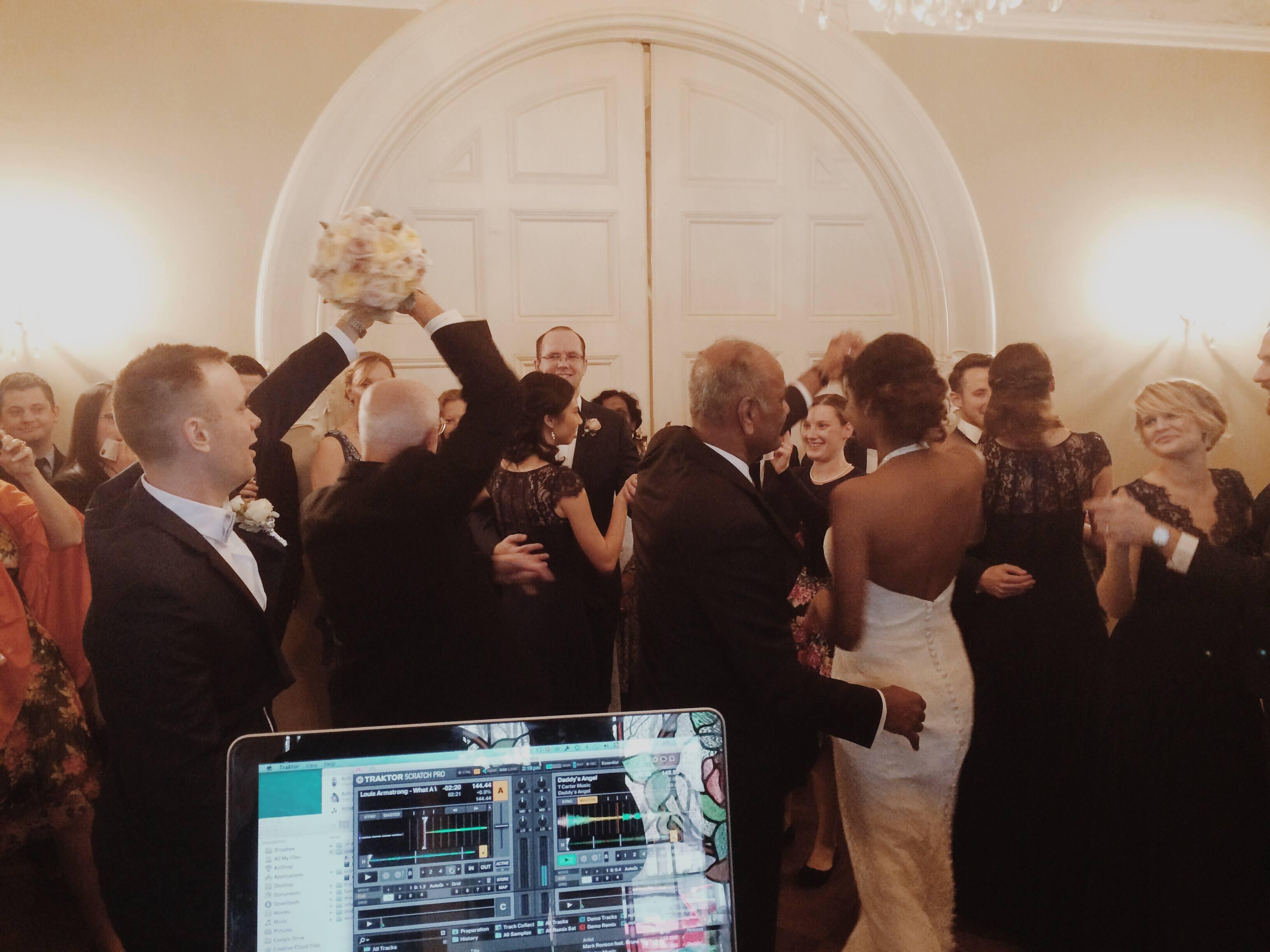 Wedding DJ Daniel Toop Griffin Alliance