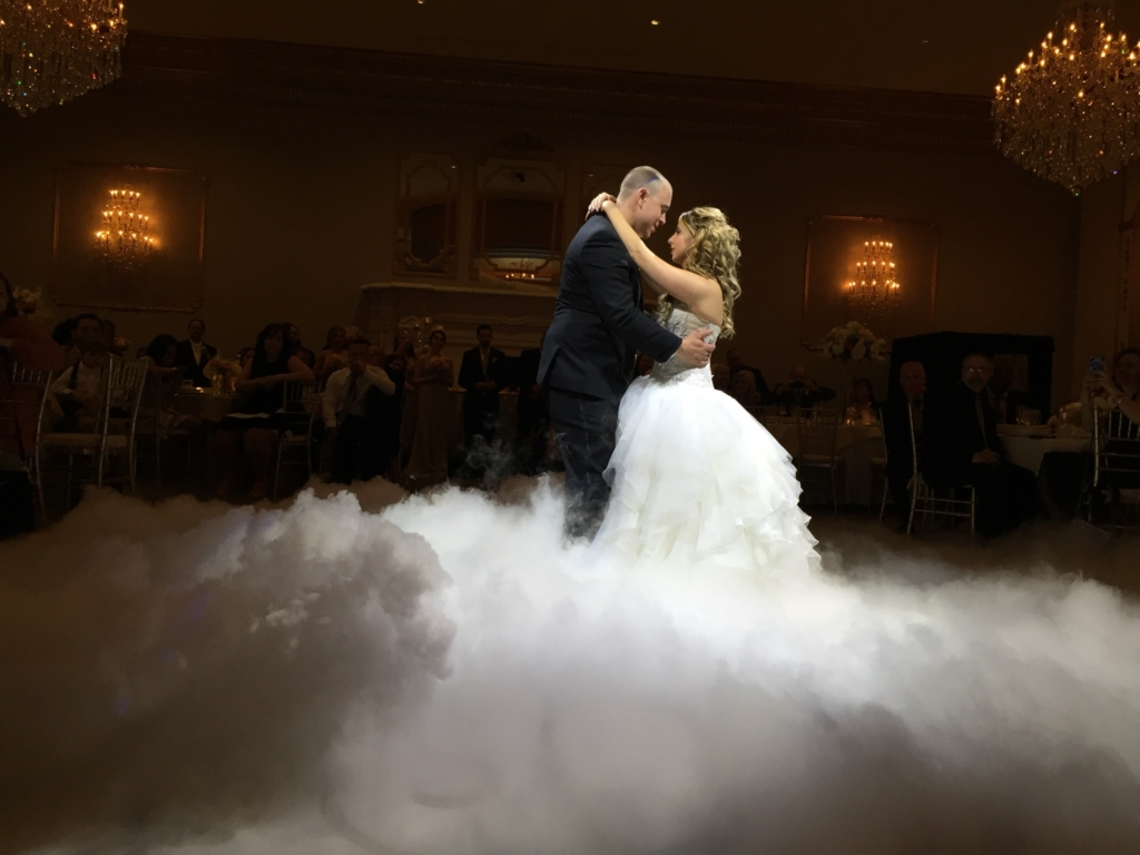 Smoke machine vs Hazer vs Dry Ice at a wedding